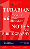 Turabian Style Guidelines in Tables (Quick Study Turabian): Easy & Quick Academic Formatting (Formatting in Tables)