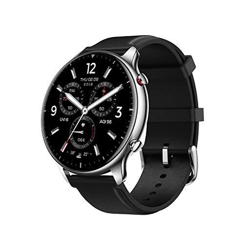 Amazfit GTR 2 Smartwatch mit Bluetooth-Anruf, Sportuhr mit 90 Sportmodi, Fitness Tracker mit Blutsauerstoffsättigungsmesser, 3GB Musikspeicher für Herren Damen