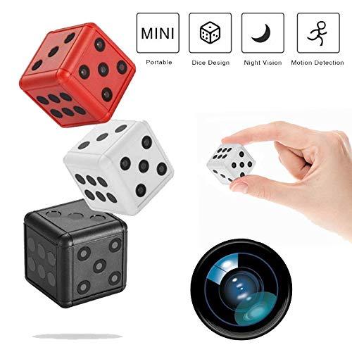 Mini cámara espía grabadora Full HD 1080P Magnetic Spy CAM inalámbrica, cámara Oculta con detección de Movimiento y visión Nocturna, Interior Exterior, Micro cámara de vigilancia Blanco