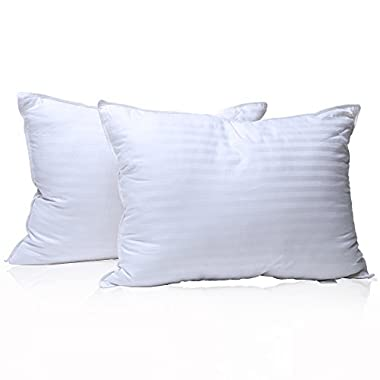 Milddreams Pillows for sleeping 2 pack - Pillows Queen size 20x30 inch – Set of 2 Bed Pillows - Best Hotel Pillow - Soft Hypoallergenic Material Goose Down Alternative