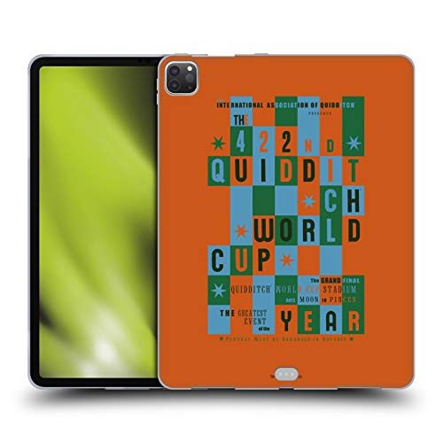 Head Case Designs Oficial Harry Potter Quidditch World Cup Poster 2 Goblet of Fire III Carcasa de Gel de Silicona Compatible con Apple iPad Pro 12.9 (2020)