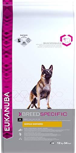 Eukanuba Alimento seco para perros adultos pastor alemán 12 kg