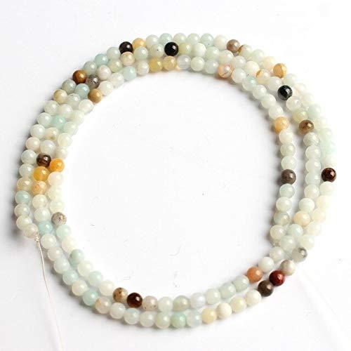 Cuentas redondas de cuarzo de ágata natural de 2 mm m para hacer joyas para pulseras y pendientes