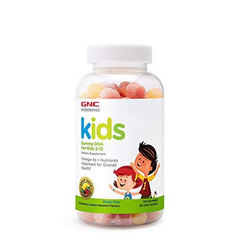 GNC milestones Kids Gummy DHA for Kids 2-12