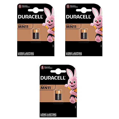 Duracell Alkali Batterie (MN11, 6V) (3 Stück)