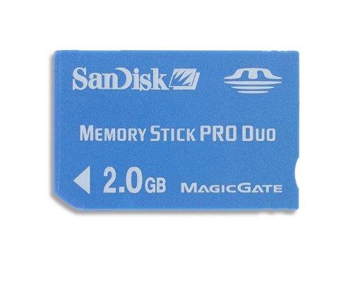 Sandisk Memory Stick Pro Duo™ 2Gb 2GB MS Memoria Flash - Tarjeta...