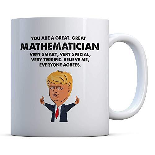 Mathematiker Trump lustiges Geschenk, Mathematiker Geburtstagsgeschenk, Geschenk für Mathematiker, Mathematiker Geschenk Kaffeetasse, Mathematiker Tasse