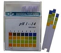 502 PPLS pH試験紙 4色対比スティック 1-14 100本入 3箱組