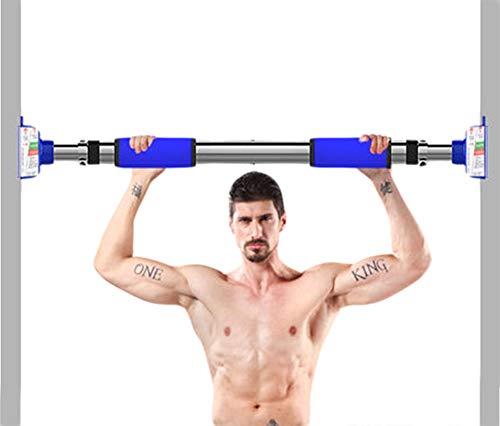 Shocly Dispositivo di Pull-Up Barra Orizzontale Pull Up Bar Barra Entroporta per Trazioni Trazione Professionale Allenare La Muscolatura del Torace,92-125cm
