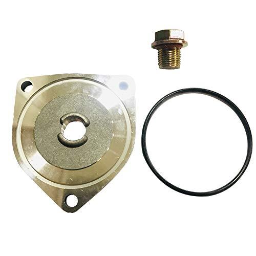 SODIAL Motorrad ?L Ablass Chassis DREI Eckige Motor ?L ?L Ablass Platte für GS125 EN125 DR125 125Cc