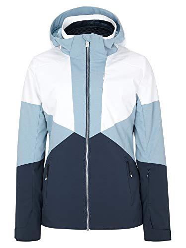 Ziener Damen Tansy Ski Snowboard-Jacke | Atmungsaktiv, Wasserdicht, Dark Navy.White, 38