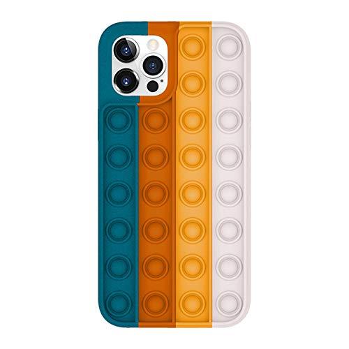 Fidget Toys Phone Case, Push Pop Bubble Fidget Toy Phone Case for iPhone 12 /iPhone 12Pro (iPhone11,5)