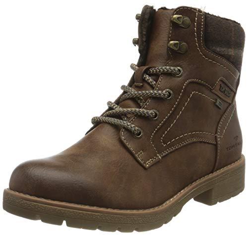 Tom Tailor Womens 9092004 Mid Calf Boot Bootie Boot, Coffee, 39 EU (6.5 UK)