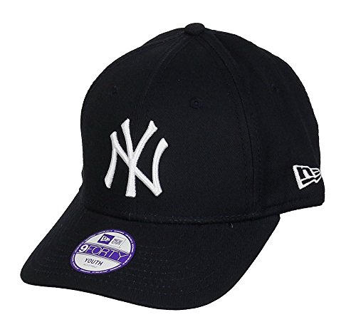 New era New York Yankees Kids 9forty Adjustable MLB League Navy/White - Child