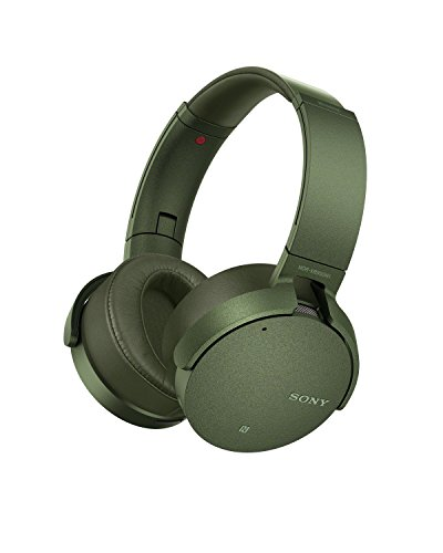 Sony MDRXB950N1G Cuffie Wireless, Verde