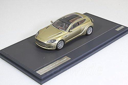 Aston Martin Bertone Jet 2 Concept, metallic-Gold, 2013, Modellauto, Fertigmodell, Matrix 1 43