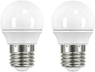 Garza Lighting - Pack de 2 bombillas LED esféricas, potencia 3.5W, luz cálida 2700K