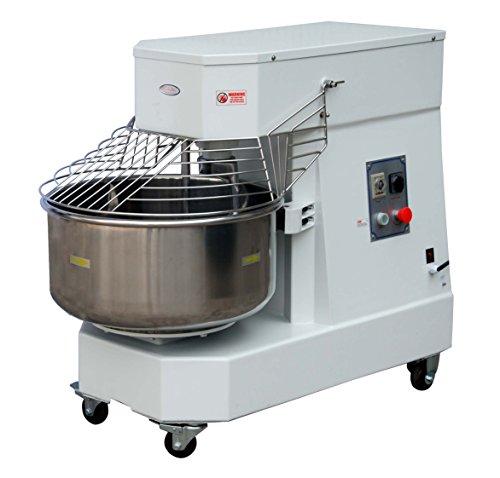 Hakka Commercial 60 Qt. Spiral Dough Mixer - 220V/60Hz Phase 3(60 Qt Spiral Mixer)