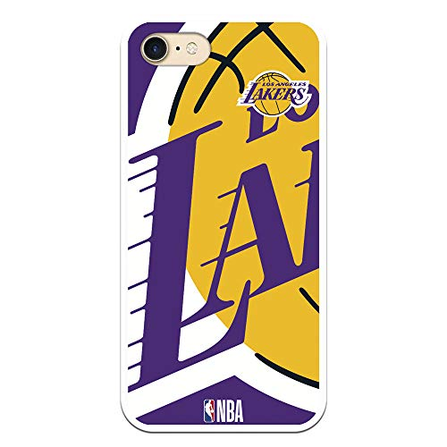 Funda para iPhone 7 / 8 - SE 2020 de NBA Los Angeles Lakers, Golden State Warriors, New York Knicks, Chicago Bulls, Cleveland Cavaliers, Boston Celtics, San Antonio Spurs , (Los Angeles Lakers)