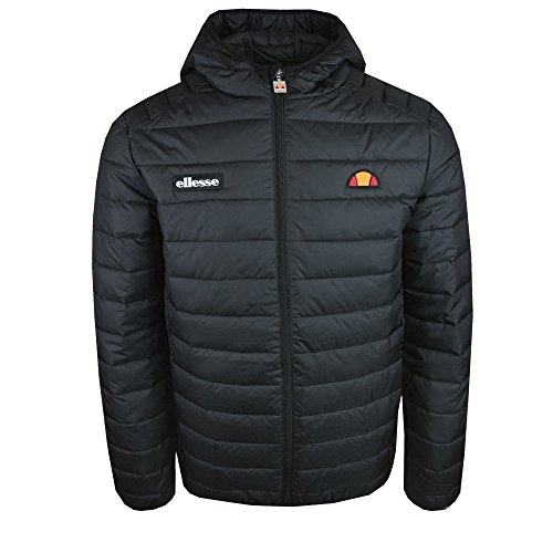 ellesse Lombardy Bubble Jacket Black S