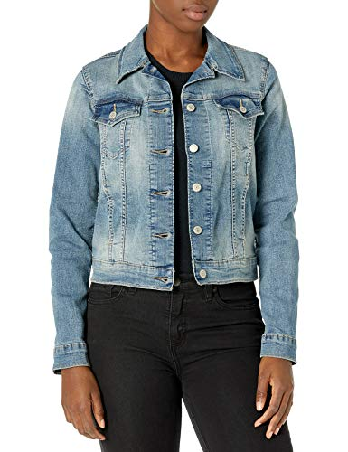 Signature by Levi Strauss & Co. Gold Label Women's Juniors Boyfriend Trucker Jacket, Not So Basic, Large