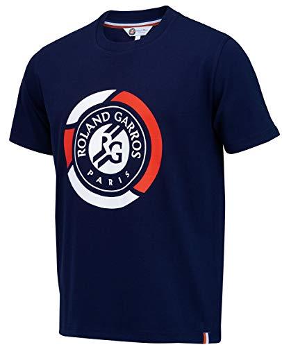 Roland Garros - Camiseta Oficial para niño, Niño, Color Azul, tamaño 10 años