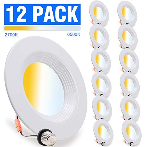 12 Pack, LED Recessed Lighting 5...