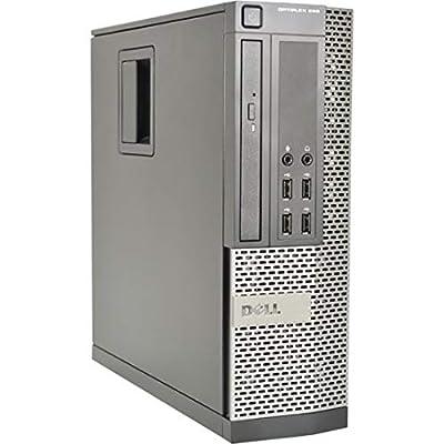 Dell Optiplex 990 SFF Desktop PC - Intel Core i5-2400 3.1GHz 8GB 500GB DVDRW Windows 10 Pro (Renewed)