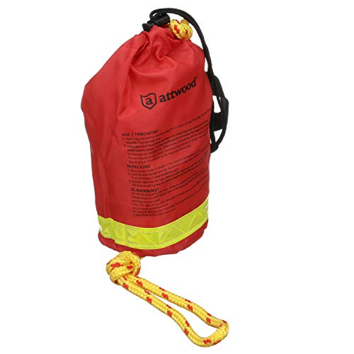 Attwood Rescue Line Throw Bag,, red, 50