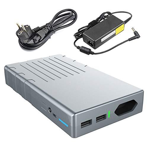 Powerbank 24000mAh 220V/230V AC 100W Ausgang - und 2 USB outputs (2.1A&1A) - OrimeCharger externer Akku für MacBook, MacBook Air, MacBook Pro, Laptop, Notebook, Smartphone, Tablet und Weitere