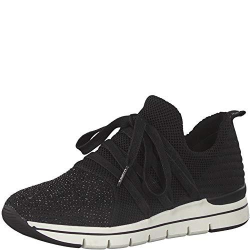 Marco Tozzi Earth Edition 2-2-23770-25 Sneaker, Zapatillas Mujer, Peine Negro, 41 EU