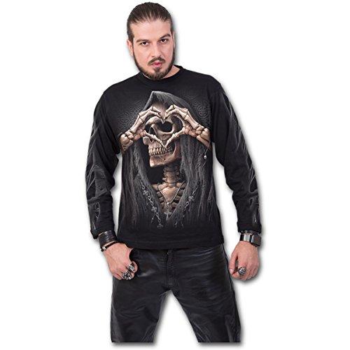 Spiral - Dark Love Black (Maglia Manica Lunga Unisex TG. XL) Merchandising