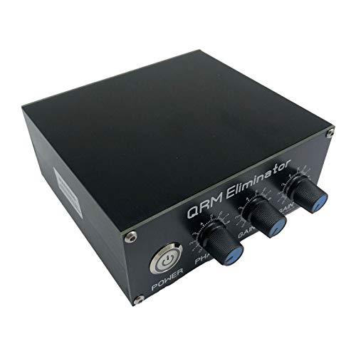 MagiDeal QRM X fas QRM avbeställare tillverkad av aluminiumlegering 1 30 MHz HF bandförstärkare 1 MHz till 30 MHz förstärkarbräda X fas integrerad PTT-kontroll
