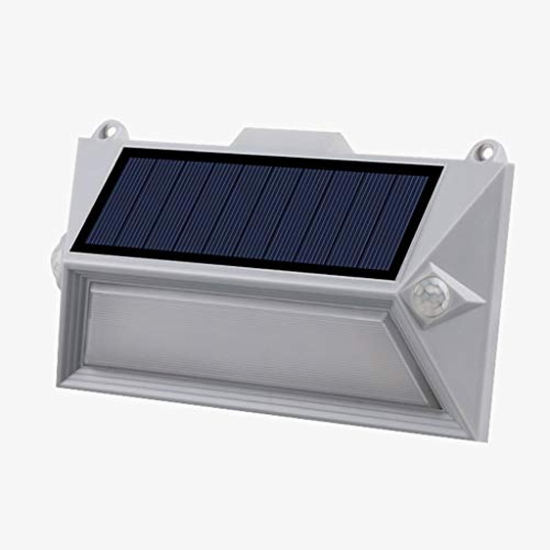 Wasserdichte Wandlampe für den Auenbereich ZS, Solar Bewegungssensor Licht Im Freien, Kabellos 18 LED Weie Flutlichter Solar Gartenlichter mit 180° Weitwinkel Wasserdichte Sicherheitsleuchten zum Au