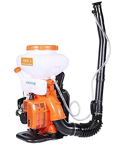 Easyto Motomochila 3WF-3, Sulfatadora de Mochila, Pulverizador de Espalda, Atomizador de Gasolina, Sulfatadora de Mochila para liquido y Polvo. Soplador de Hojas.