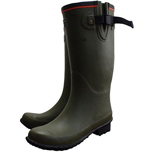 ミツウマ 長靴 レディース メンズ ロング 防水 ベールノース No.7 梅雨 雨の日 000007 春夏 靴 (28.0cm, OG)