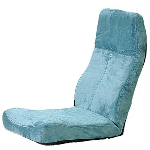 L-R-S-F Dossier Paresseux de Dossier de Chaise Pliable Chaise Flottante de Sofa de fenêtre de Chaise (Couleur : Emerald Green)