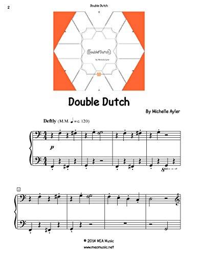 Double Dutch: Easy Piano Solo (English Edition)