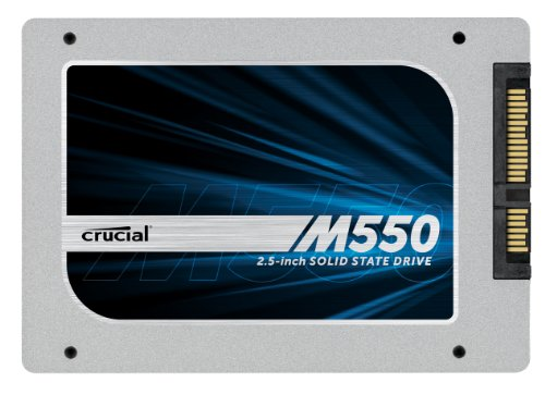 (OLD MODEL) Crucial M550 256GB SATA 2.5' 7mm (with 9.5mm adapter) Internal Solid State Drive - CT256M550SSD1