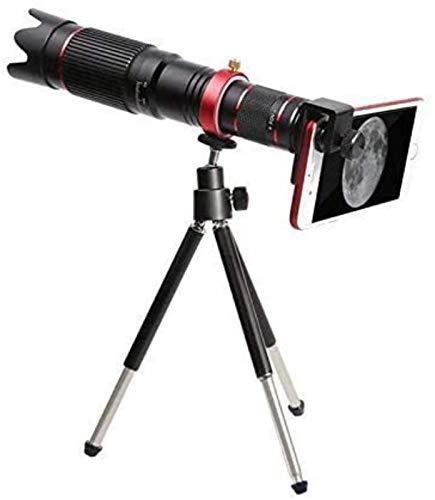 ZHCJH Zoom Telescopio Lentes de teléfono móvil Universal 4K HD 36X Lente óptica de Enfoque único para prismáticos de Lente de cámara