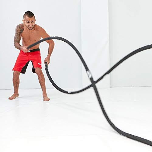 Blitz-Unisexs-38mm-Training-Battle-Rope-Black-One-Size