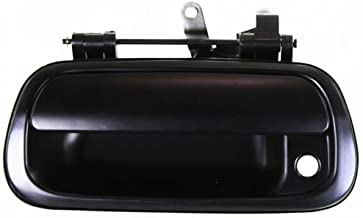 Make Auto Parts Manufacturing - TUNDRA 00-06 TAILGATE HANDLE, Smooth Black, Standard/Extended Cab/Crew Pickup - TO1915111