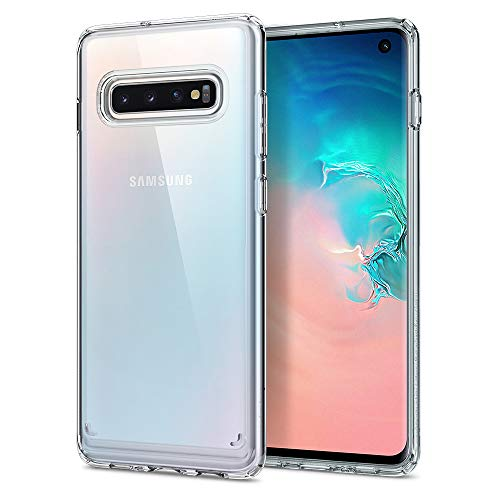 Spigen Cover Samsung Galaxy S10 Ultra Hybrid Compatibile con Samsung S10 Cover Custodia - Crystal Clear