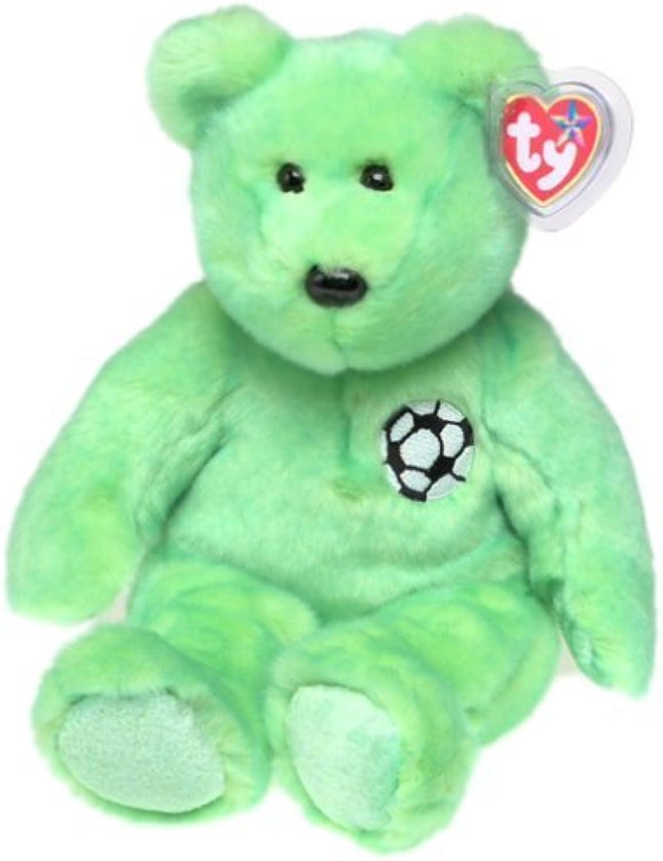 1 X TY Beanie Buddy  KICKS the Soccer Bear by Beanie Buddies