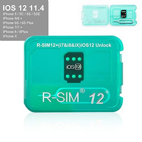 R Sim12 V16 Sim Nano Unlock Card Case Holder Fully Automatic Unlock With Iccd Unlock Program For Iphone Xsx678plus