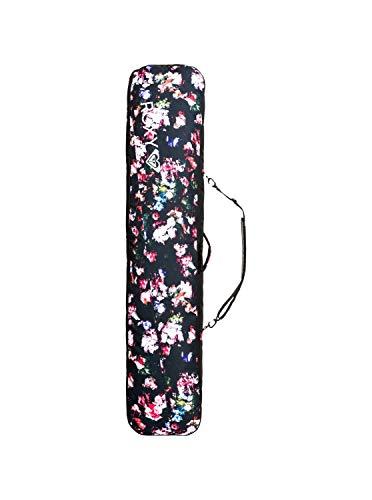 Roxy Damen 102L-Snowboard-Reisetasche Snowboard-Reisetasche, True Black Blooming Party, 1SZ