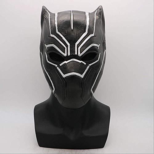 FWOSY Cosplay Black Panther Maschera Guanto in Lattice Captain America 3 Civil War Hero Prop Accessori per Costumi di Halloween