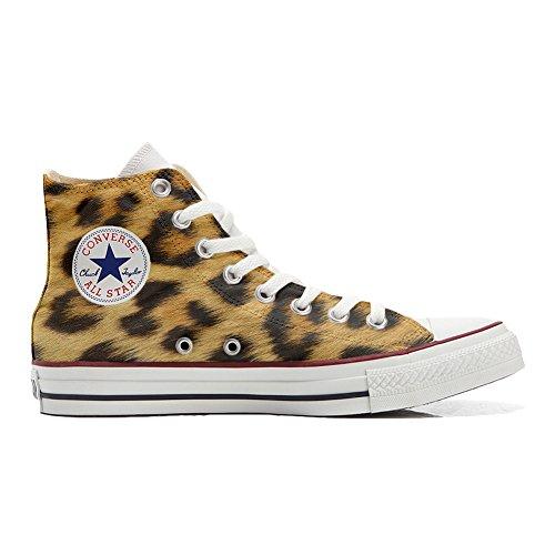 Scarpe Donna Sneakers - Original USA - Personalizzate (Prodotto Artigianali) Leopardate - TG37