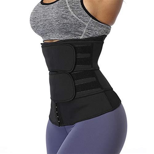 TOSBTD Recortador De Cintura para Mujer Neopreno Corsé Transpirable Cincher con Fajas Cinturón De Sauna Moldeador De Cuerpo Extensor De Pérdida De Peso Abdominal,XL
