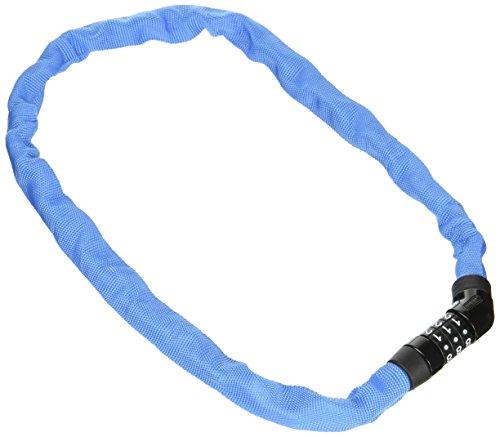 ABUS Kettenschloss Steel-O-Chain 4804C/75 – Fahrradschloss aus Stahl – Sicherheitslevel 3 – 75 cm – 71616 – Blau